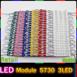 Wholesale LED Injection Module light lamp SMD led waterproof LED modules for sign letters LED back light SMD5730 led W DC12V