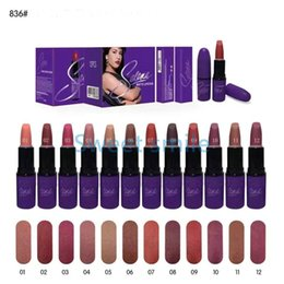 Wholesale HOT NEW Selena Collection MATTE LIPSTICK Fashion Makeup Waterproof Beautiful Cosmetics Color