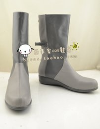Wholesale BEELZEBUB Aoi Kunieda Cosplay Boots shoes shoe boot NC187 anime Halloween Christmas