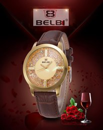 Wholesale Women Watches Luxury Business Casual Watches Imported Quartz Movement Genuine Leather High Quality Strap sports watch Drees Watches For belb