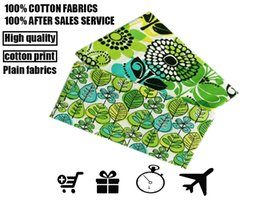 Wholesale fabric vb otton cloth Retro floral pattern printing grain cloth cotton AB DIY quilting clothing custom made leaning cushion for fabric