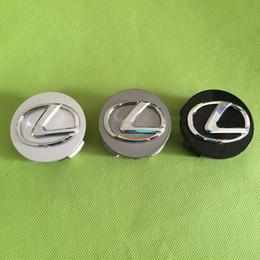 Wholesale Wheel Center Caps Wheel Covers for Lexus Parts Plastic Gray Silver Black Wheel Covers Caps New Arrivals