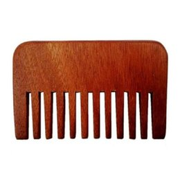 Mini Wooden Comb Wholesale Wide Teeth Handmade Wood, Perfect for use with Balms Oils, Haircut Fade Comb over Hair Beard Style * BUY NOW!*