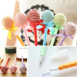 20pcs lot Lollipop Shape Ballpoint Pen Writing Pens Student Stationery Best Children's Gifts Novelty Pens Promotional Pens Papelaria