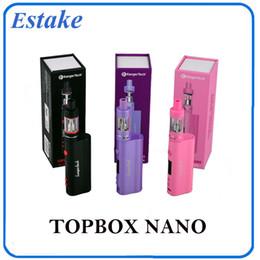 Evic vtc en venta-Kang Topbox Nano Starter Kit Kit Kangertech 60w TC Caja Mod Kit PK Subox Mini Kit Nano JOYTECH Evic VTC 0266050