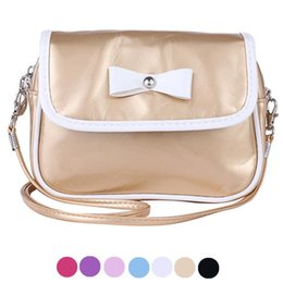 Wholesale sali Contracted Style Tourism Aslant Package Casual cute Bow weman handbag shouderbag