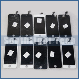 Attention ! 100% Outstanding With Warranty LCD Screen Refurbish Service For Apple iphone 5 5c 5s Cracked Broken LCD Digitizer Repair Service