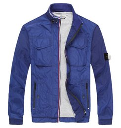 Wholesale New Autumn spring stone ornament Tano island zipper European and American style retro jackets Waterproof and wind proof jackets