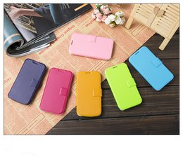 Wholesale iphone mobile phone holster factory Variety of tricks bright in colour mobile phone leather case