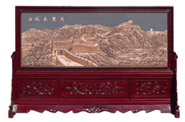 Wholesale Chinese Ancient Culture And Art Wall Chinese Precious Console Screen Wall Mount Tai Images Vertical Wall Paintings And Other Image Pattern