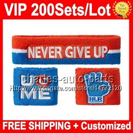 Wholesale VP Price NEW Top Quality Wrist support VIP596 NEW Blue wristbands sweatbands wristband sweatband Blue color Factory onlie store