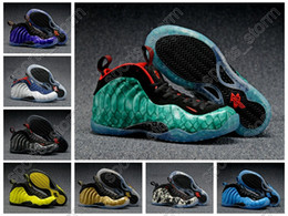 Wholesale 2016 Many Colors China Penny New Hardaway Foamposites One Men Women Basketball Shoes High quality Running Shoes quality Size