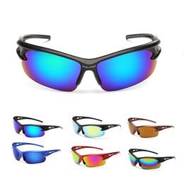 Wholesale Fashion Shiny Mens Sunglasses Sport Sun Glasses Half Frame Sunglasses for Men High Quality Sunglasses Sunglasses in China