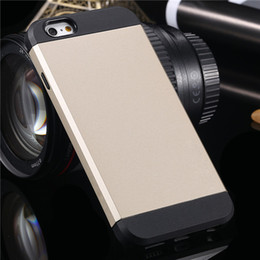 """For iphone 6 6s plus Elegant Fashion Hard Case Ultra Thin Without Logo Cover Soft TPU + Hard PC Tough Hybrid Armor For iphone6 4.7"""" 5.5"""""""
