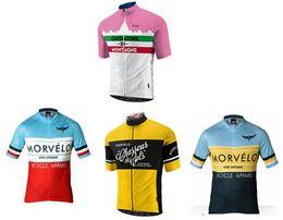 2019 Morvelo Short Sleeve Cycling Jersey  Cycling Clothing ciclismo maillot mortocycle clothing MTB L4