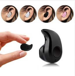S530 Earphone Wireless Bluetooth For Iphone 7 In-ear V4.0 Sport Phone Headset With Micro Phone For Mobile Phone PC etc.