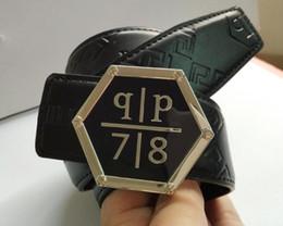 Wholesale Hot Brand f Belt Men Best Quality Genuine Leather Black Designer Cowhide Belt For Men Luxury Belts