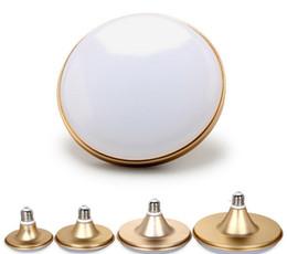 Wholesale LED Bulbs Cool White Color Mushroom lamp Household lamps UFO light w w W w Led Bulbs Saucer Led Globe