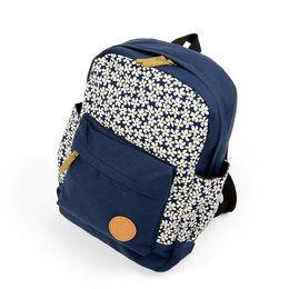 New hot Women Girl Flower Canvas Travel Satchel Shoulder Bag Backpack Rucksack Bookbag shipping