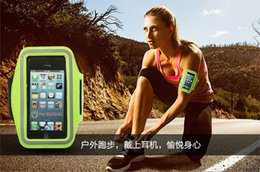 Wholesale 1 Armband Running bag For Phone Waterproof Sports Running Case Workout Armband Holder Pounch For iphone Cell Mobile Phone Arm Bag Band
