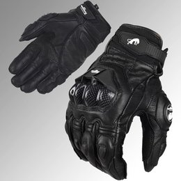 1606 free shipping Professional Jaguar Furygan AFS 6 motorcycle racing gloves carbon fiber leather guantes motorcycle