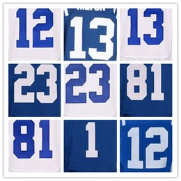 Wholesale 12 Andrew Luck jersey T Y Hilton Andre Johnson Pat McAfee Stitiched elite jersey