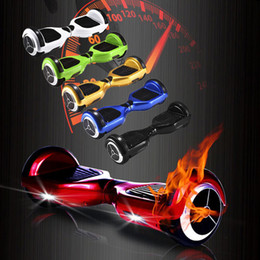 Wholesale 6 inch Two wheel Scooter Unicycle mah Battery self balance electric Scooters Balancing Motor Skateboard to france