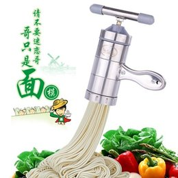 Wholesale authentic household manual stainless steel pressure machine small family noodle machine hand pressure device