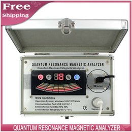 Wholesale DHL quantum resonance magnetic health analyzer new th Generation version comparative function reports health analyzer