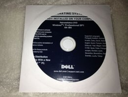 Wholesale win7 professional Computer System Operating Software bit or bit dvd disk only without oem key or sticker with by dhl