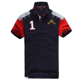 Wholesale 2016 New High quality men shirt homme Aeronautica Militare Polo T Shirt Short sleeve Air Force One mans short Brand Polo shirt masculino