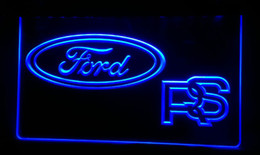 LS272-b Ford RS-Car Neon Light Sign