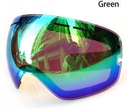 2016 The original lens ski goggles the GOG-201 anti-fog UV400 large spherical ski goggles sunglasses glasses GOG-201L