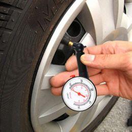 Wholesale Car Vehicle Motorcycle Tire Gauge Meter Pressure Tyre Measurement Tool PSI to and BAR