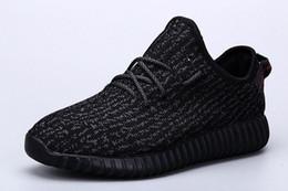 Venta al por mayor de la fábrica en la primavera de zapatos del coco de Kanye Zapatos negros de las mujeres grises de los zapatos de las mujeres Zapatos ocasionales de las zapatillas de deporte de las ventas superventas desde mejores botas de las mujeres al por mayor fabricantes