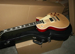 Free Shipping HOT Custom shop Electric Guitar Natural wood Electric guitar from china Free shipping