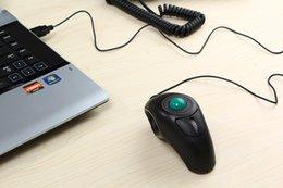 Wholesale Portable Finger Hand Held D Usb Mini Trackball Mouse Handheld USB Trackball Finger Mouse mouse Thumb controlled trackball
