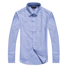 2017 Fashion Luxury Long Sleeve Mens Dress Shirts Man high Cotton Shirt Plus Size High quality Chemise Homme big size M to 4XL