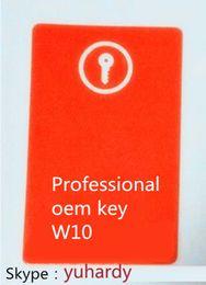 Wholesale Genuine coa sticker best quality W pro oem coa with online activation COA OEM Label