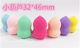 Wholesale 500pcs Makeup Foundation Sponge Blender Blending Cosmetic Puff Flawless Powder Smooth Beauty Make Up Tool for women causal best gift