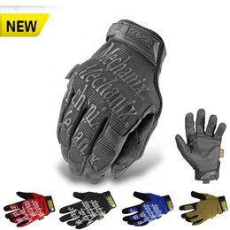 Wholesale Mechanix Wear Lightweight Super General Edition Army Military Motorcycle Cycling Tactical Gloves Outdoor Bicycle Airsoft Full Finger Gloves