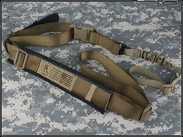 Wholesale TROY BATTLE SLINGS gun sling airsoft painball Shoulder strap Coyote brown Belts Accessories