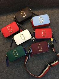 2016 MAR bag new fashion shoulder bag hit color leather camera bag cross body bag handbag free shipping