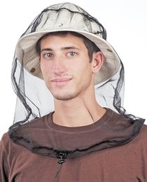 Wholesale Anti mosquito Fishing Net Anti mosquito Fishing Hat Camping Garden Orchard Outdoor Anti mosquito Net Hat