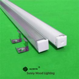Wholesale 10m X1m inch degree Corner led aluminium profile for led tape and rigid strip led cabinet triangle bar light with strip