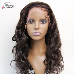 Human Hair Full Lace Wigs Body Wave 10-24inch Glueless Human Hair Lace Front Wigs for Black woman with Baby Hair Freeshipping