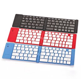 Wholesale UniversalThe new aluminium alloy folding samsung bluetooth keyboard apple the cell phone general gift bluetooth keyboard manufacturers