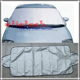 Wholesale by dhl or ems sets Car Styling Anti snow Sunscreen Anti rain Winter Covers Automobile Front Windshield Glass Sun Shade