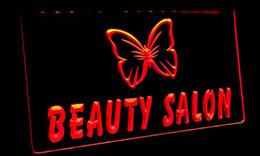 LS052-r Beauty Salon NaiLS NR Neon Light Sign