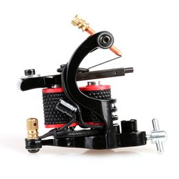 Wholesale 2016 HOT New Design Beautiful Handmade Mini Tattoo Gun Shader Coils Tattoo Machine For Art Supply Machine KitsTM8344